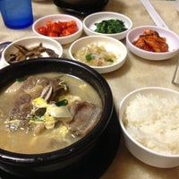 Photo taken at Chodang Restaurant by Gavin N. on 1/6/2013