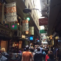 Photo taken at Degraves Street by Creen D. on 3/28/2014