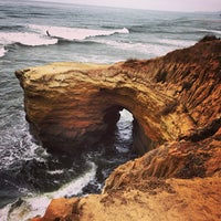 Foto tirada no(a) Sunset Cliffs Natural Park por Bruno M. em 7/19/2013