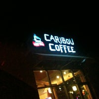 Photo taken at Caribou Coffee by Faith S. on 10/12/2012