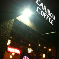 Photo taken at Caribou Coffee by Faith S. on 4/3/2013