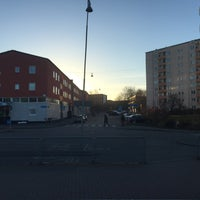 Photo taken at Hållplats Doktor Fries Torg (S) by M H. on 12/2/2016