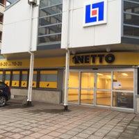 Photo taken at Netto Skånegatan by M H. on 1/14/2017