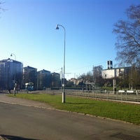 Photo taken at Hållplats Doktor Fries Torg (S) by M H. on 4/23/2017