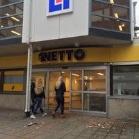 Photo taken at Netto Skånegatan by M H. on 10/21/2016
