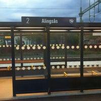 Photo taken at Alingsås Station by M H. on 8/15/2015