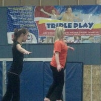 Photo taken at Flip Factory Gymnastics by 'Shane F. on 2/5/2013