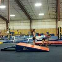 Photo taken at Flip Factory Gymnastics by 'Shane F. on 3/19/2013