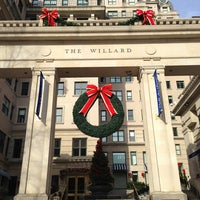 Photo taken at InterContinental The Willard Washington D.C. by Glen on 1/5/2013