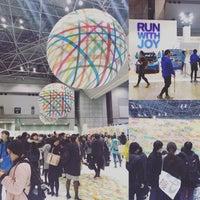 Photo taken at Tokyo Marathon EXPO by koji n. on 2/24/2017