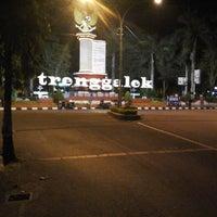 Photo taken at Alun-Alun Trenggalek by Agung P. on 4/11/2015
