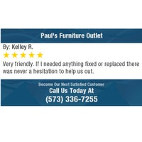 Photo taken at Pauls Furniture Outlet by Richard B. on 1/1/2018