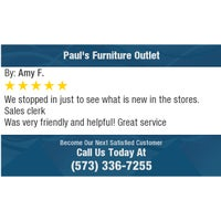 Photo taken at Pauls Furniture Outlet by Richard B. on 11/27/2017