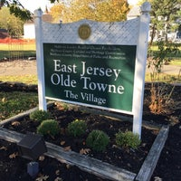 Photo taken at East Jersey Olde Towne Village by Mario L. on 10/12/2014