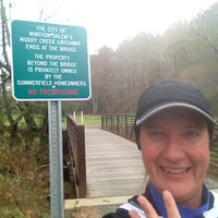 Photo taken at Muddy Creek Greenway by Laura G. on 11/6/2012