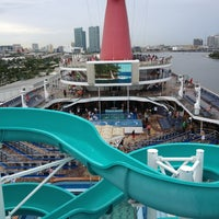 Photo taken at Carnival Victory by Anthony V. on 9/7/2013