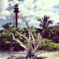 Photo taken at Sanibel Island Lighthouse by Anthony V. on 9/9/2013