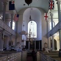 Das Foto wurde bei The Old North Church von Aleta E. am 5/8/2013 aufgenommen