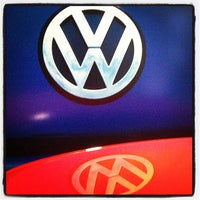 Photo taken at Luther Westside Volkswagen by Jason T. on 5/17/2013
