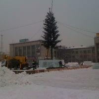 Photo taken at Площадь Юности by Екатерина Л. on 12/13/2012