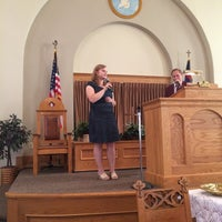 Photo taken at First Baptist Church of Brunswick by Phil G. on 6/29/2014