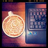 Photo taken at Hollys Coffee by Kjietil W. on 10/21/2012