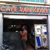 Photo taken at Cafe Van Kleef by Ian R. on 5/15/2013