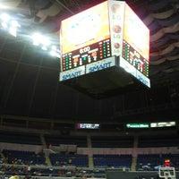 Photo taken at SMART Araneta Coliseum by Reiner Symon R. on 10/7/2013