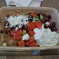 Photo taken at EONS Greek Food for Life by Alvin on 4/27/2016