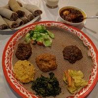 Photo taken at Awash Ethiopian Restaurant by Alvin on 10/15/2016