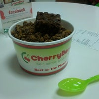 Photo taken at CherryBerry Yogurt Bar by Kyle K. on 11/21/2012