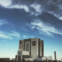 Photo taken at Kennedy Space Center Vehicle Assembly Tour by Jason T. on 3/21/2016