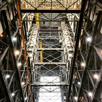 Photo taken at Kennedy Space Center Vehicle Assembly Tour by Jason T. on 12/18/2014