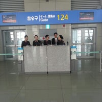 Photo taken at Gate 124 by Kaan A. on 11/8/2012
