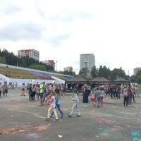 """Photo taken at Стадион """"Локомотив"""" by Karina🎀 B. on 8/20/2017"""
