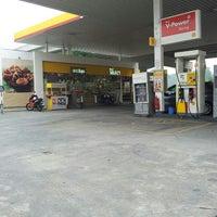 Photo taken at Shell by Fath Fathiah on 9/25/2015