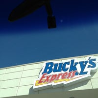 Photo taken at Bucky's Express by David M. on 10/21/2012