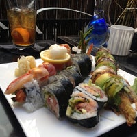 Photo taken at Nijo Sushi Bar & Grill by Mike P. on 7/22/2013