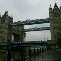 Photo taken at Tower Bridge by o o. on 5/4/2017