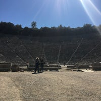 Photo taken at Epidaurus Ancient Theatre by C L. on 10/13/2017