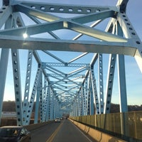 Photo taken at Monaca-East Rochester Bridge by Joshua M. on 12/6/2012