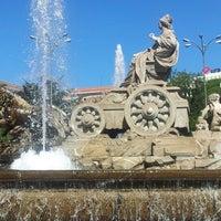 Foto tomada en Plaza de Cibeles por Eusebio Jesús C. el 9/15/2012