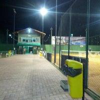 Photo taken at Quadras De Tenis Do Bela by Renato L. on 12/12/2012