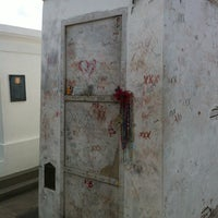 Photo taken at Tomb Of Marie Laveau by Melissa F. on 10/23/2012