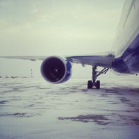 Photo taken at Yakutsk Airport (YKS) by Nikolay M. on 10/28/2012
