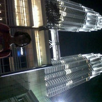 Photo taken at KLCC  Twin Tower by tica t. on 12/15/2012