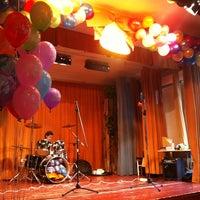 Photo taken at Пироговская школа by Anya P. on 5/24/2013