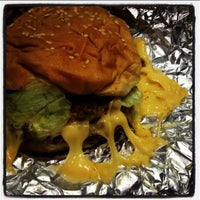 Photo taken at Five Guys by Heyam A. on 3/17/2013