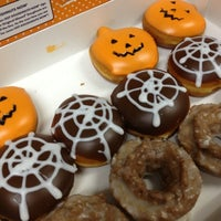 Photo taken at The Donut Room by Miki K. on 10/26/2012