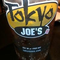 Photo taken at Tokyo Joe's by Erica J. on 4/30/2013